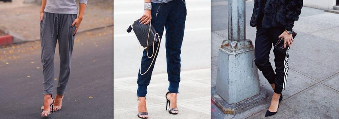 Spodnie dresowe i szpilki – tak to możliwe!