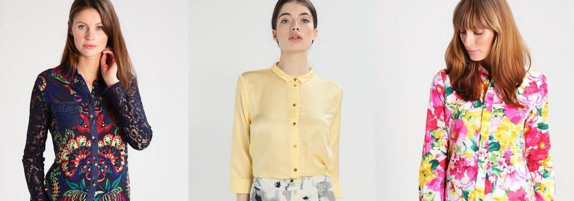 Kolorowe koszule na wiosnę – modne stylizacje