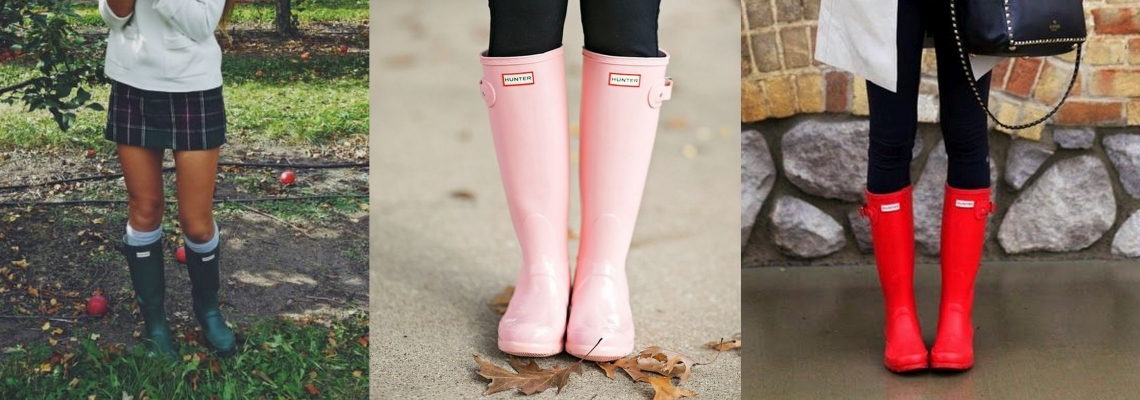 Kalosze damskie – modne i niezbędne buty na kapryśną pogodę