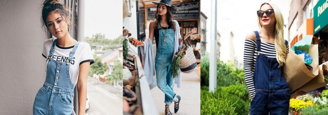 Ogrodniczki – jeansowa alternatywa dla kombinezonu