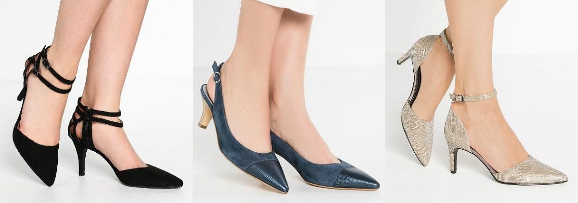 Kitten heels – popularne czółenka na niskim obcasie