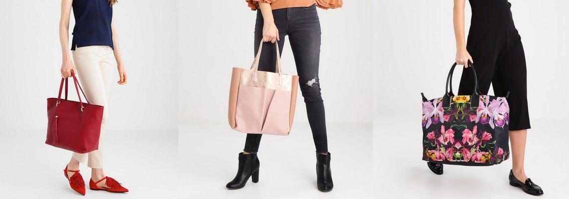 Duże torebki shopper bags – świetna modowa inwestycja!