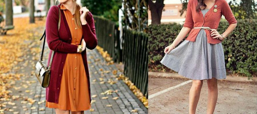 Sweter i sukienka – duet idealny na chłodne lato