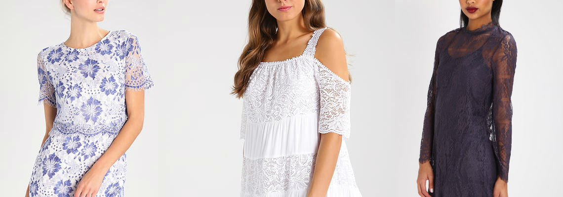 Jesienne trendy – koronkowe ubrania