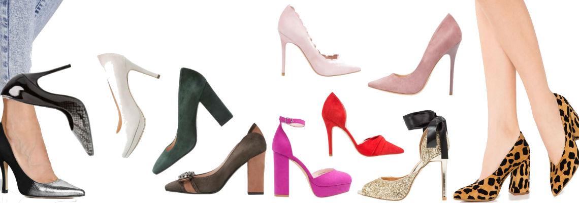 Buty na obcasie w różnych cenach – 100, 300, 500 złotych
