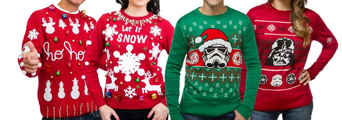 Świąteczny sweter – nie musi wyglądać tandetnie!