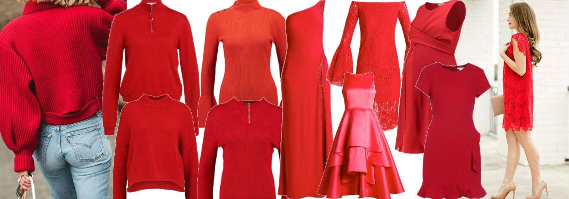 Czerwone ubrania – dodaj swojej stylizacji świątecznego charakteru